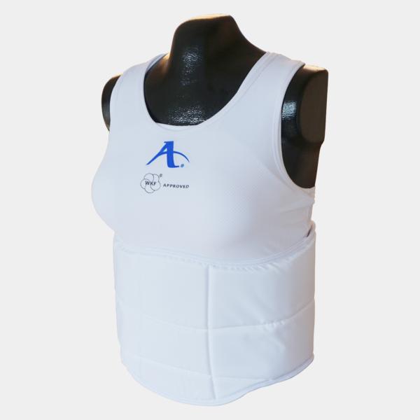 Karate bodyprotector dames Arawaza | WKF | wit