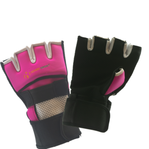 Binnenhandschoen performance quick wrap Nihon | roze-zwart