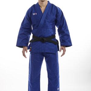 Ippon Gear Basic blauw judopak voor de jeugd