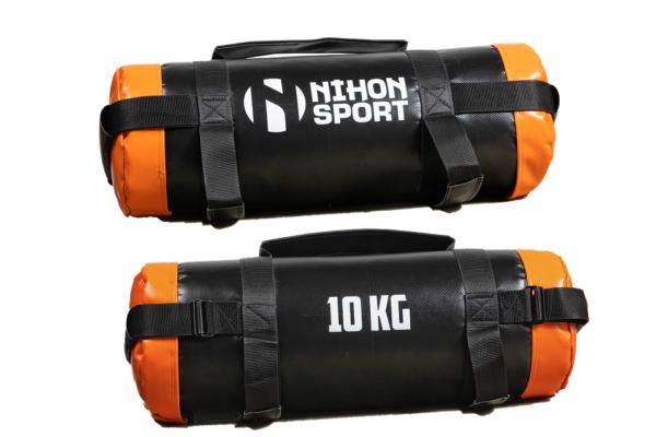 Powerbag Nihon   zwart met accentkleur   gewicht 5 - 25 kg