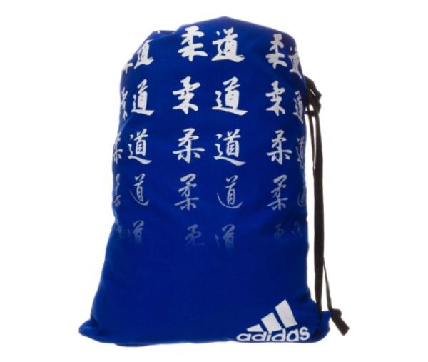 Adidas gymtas Judo | blauw-wit