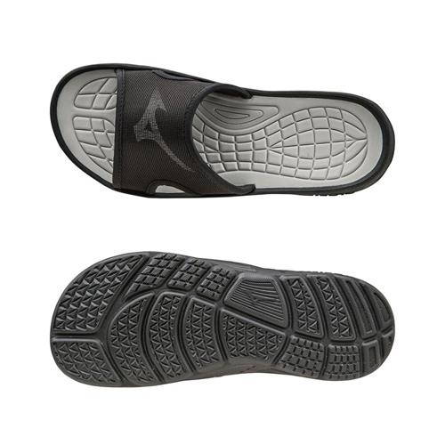 Mizuno RELAX SLIDE slippers zwart/zilver