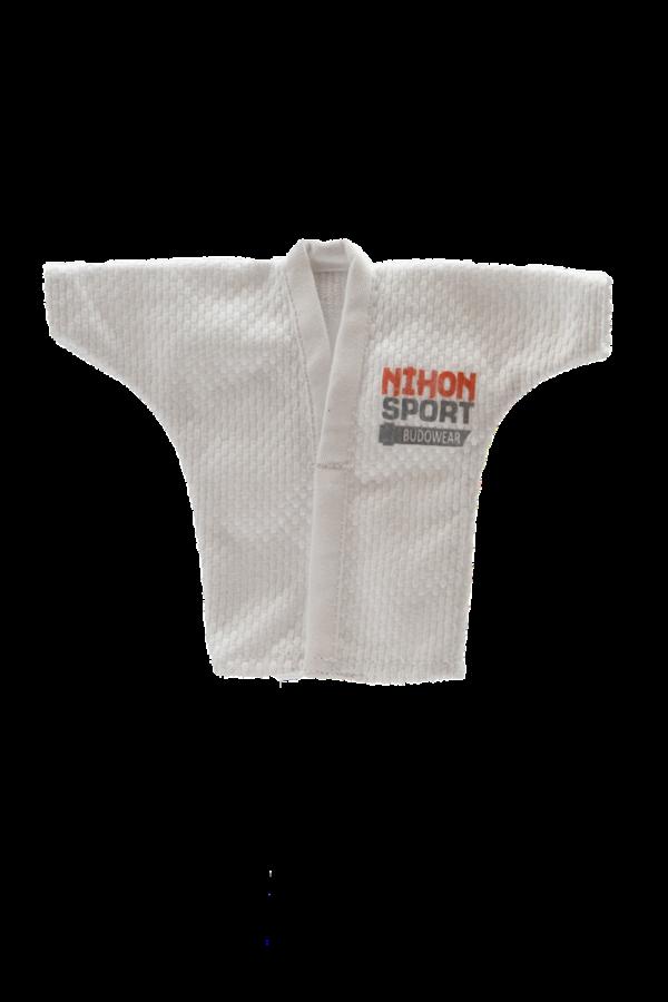 Mini-judogi wit Nihon   wit
