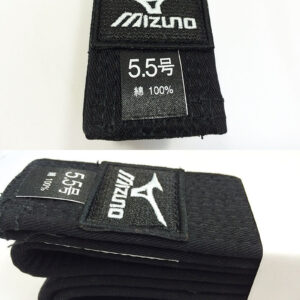 Mizuno OBI IJF zwarte judoband