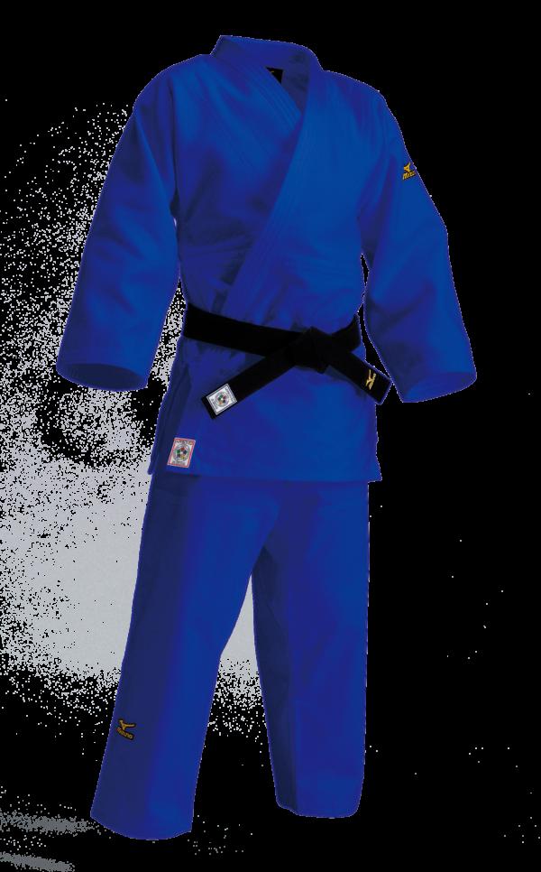Mizuno Yusho Japan IJF judopak blauw