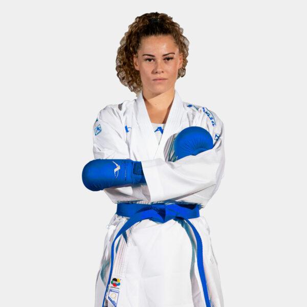 Kumite-karatepak Onyx Oxygen (blauw) Arawaza   WKF