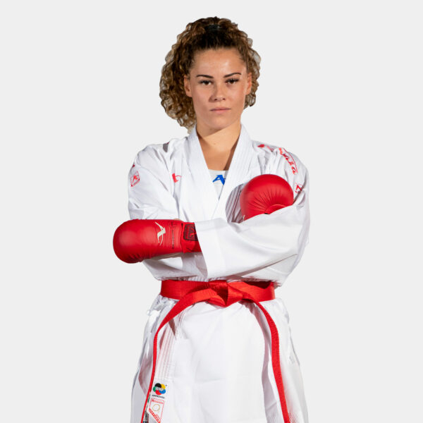 Kumite-karatepak Onyx Oxygen (rood) Arawaza   WKF