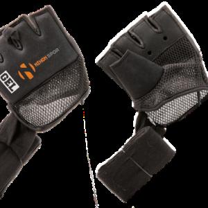 Binnenhandschoen (inner glove) Mexican wrap Nihon   zwart