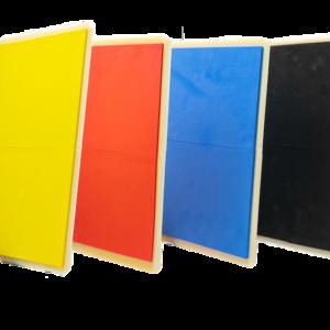 Herbruikbare breekplanken voor taekwondo JCalicu | 4 kleuren