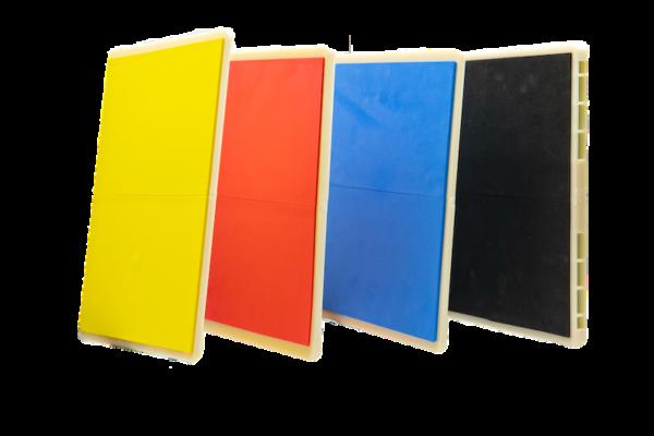 Herbruikbare breekplanken voor taekwondo JCalicu   4 kleuren