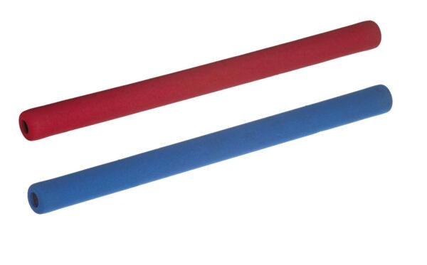 Soft sticks set voor jiujitsu Nihon   rood en blauw
