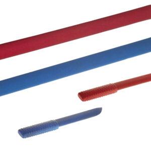 Soft sticks & messen set voor jiujitsu Nihon | rood en blauw